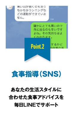 食事指導(SNS)